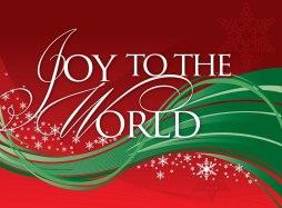Joy to the Wordl