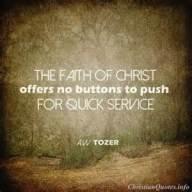 Tozer faith - 2