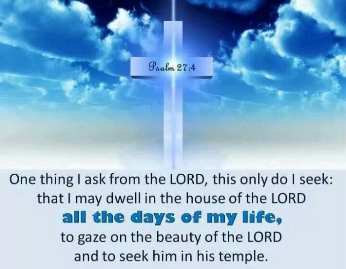 Psalm 27.4