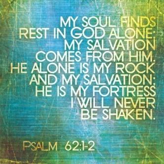 Psalm 62-1.2