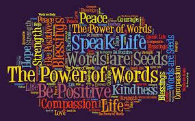 speak words