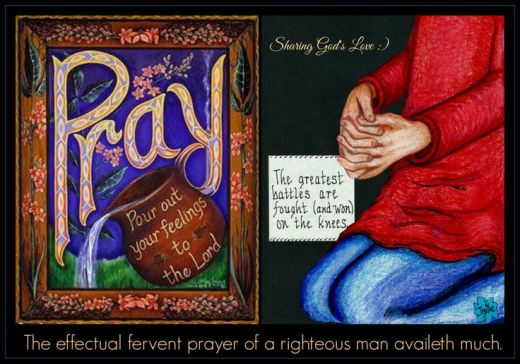 The fervent effectual prayer
