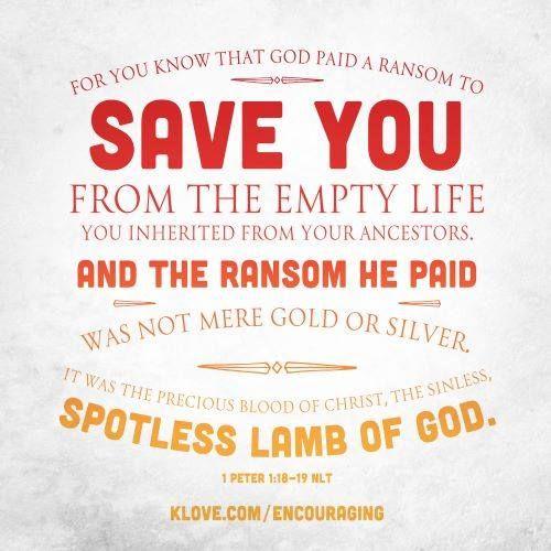 1 Peter 1.18-19