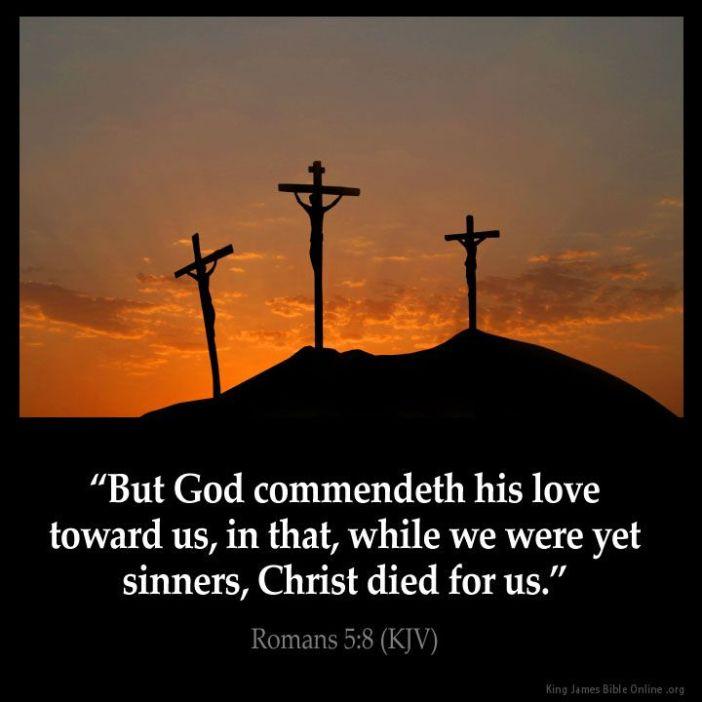 Romans 5.8a