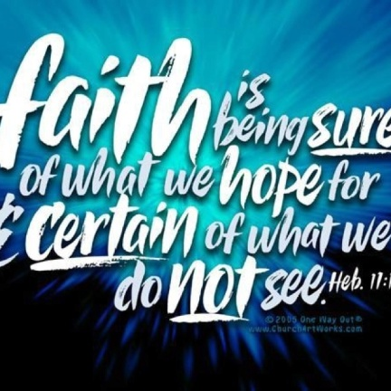 Hebrews 11.1b