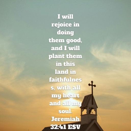 Jeremiah 32.41A