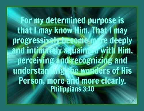 Philippians 3.10a