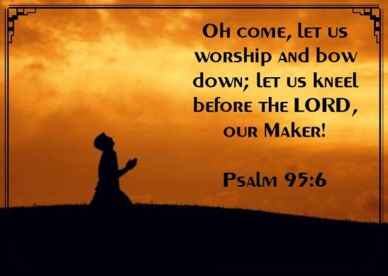 Psalm 95.6