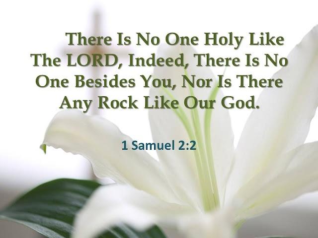 1 Samuel 2.2