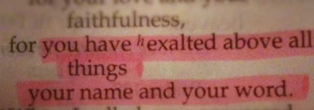 exalted Word2