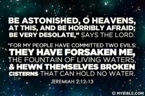 Jeremiah 2.13A