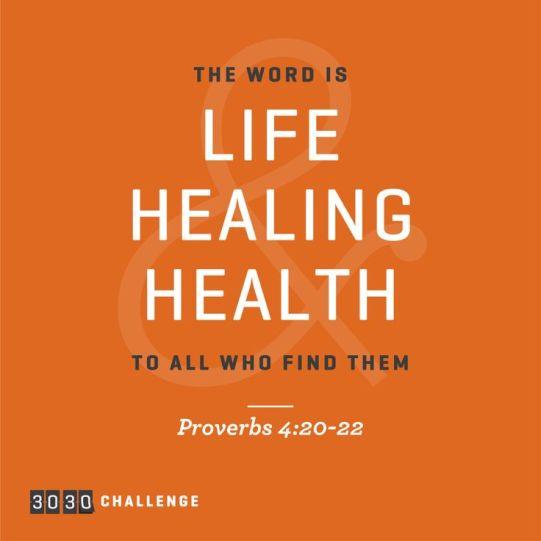 Proverbs 4.20