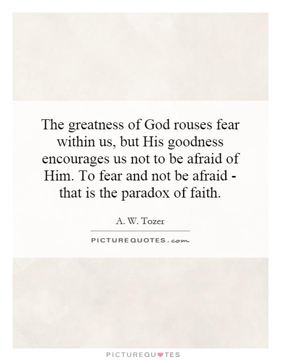 Tozer Fear 11