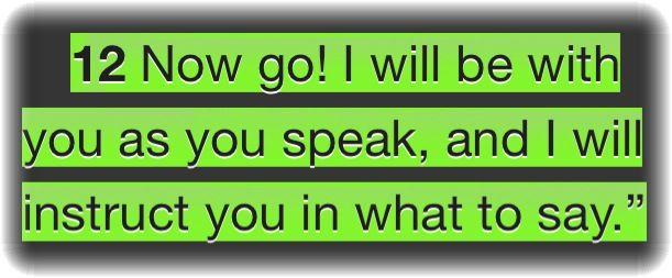 Exodus 4.12