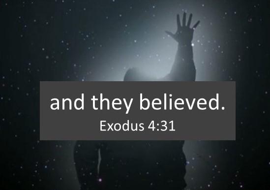Exodus 4.31