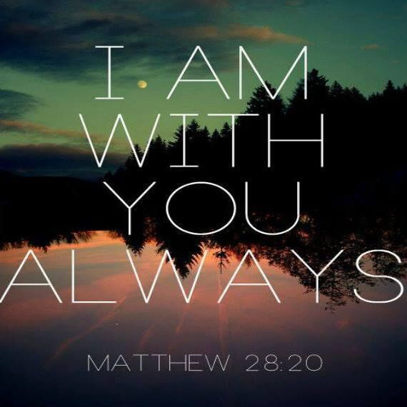 Matthew 28.20A