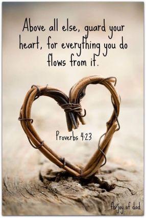 Proverbs 4.23b