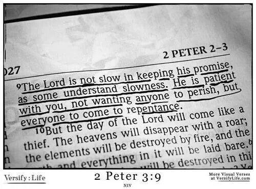 2 Peter 3.9