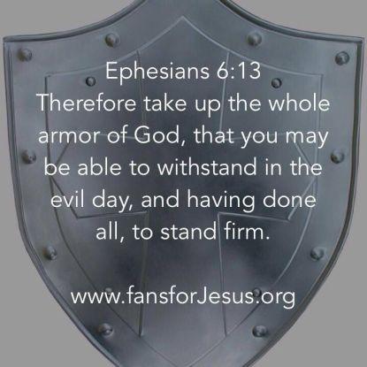Ephesians 6.13
