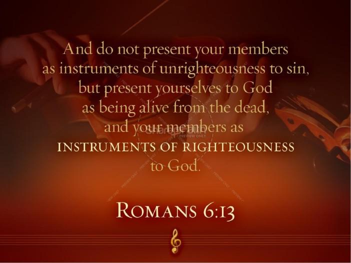 Romans6.13