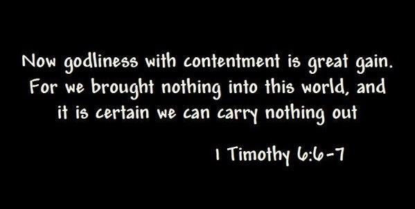1 Tim 6.6-7