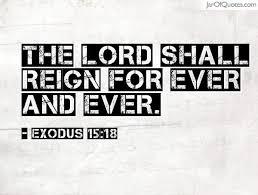 Exodus 15.18
