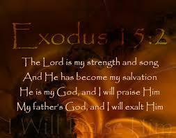 Exodus15.2-3