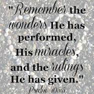 Psalm 105.5