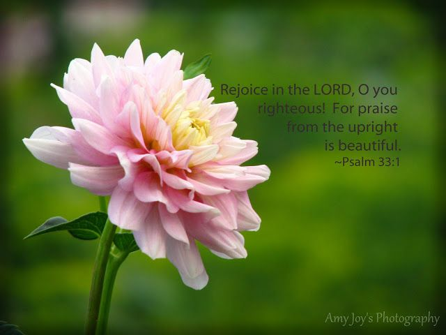 Psalm 33.1