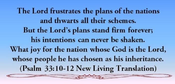 Psalm 33.10