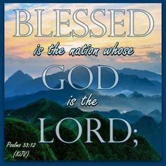 Psalm 33.12a