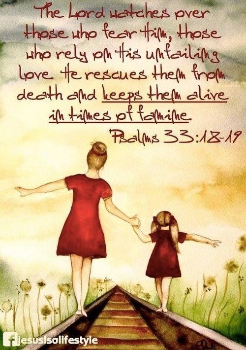 Psalm 33.18-19