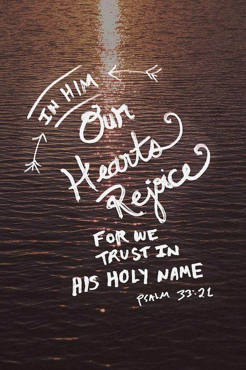 Psalm 33.21
