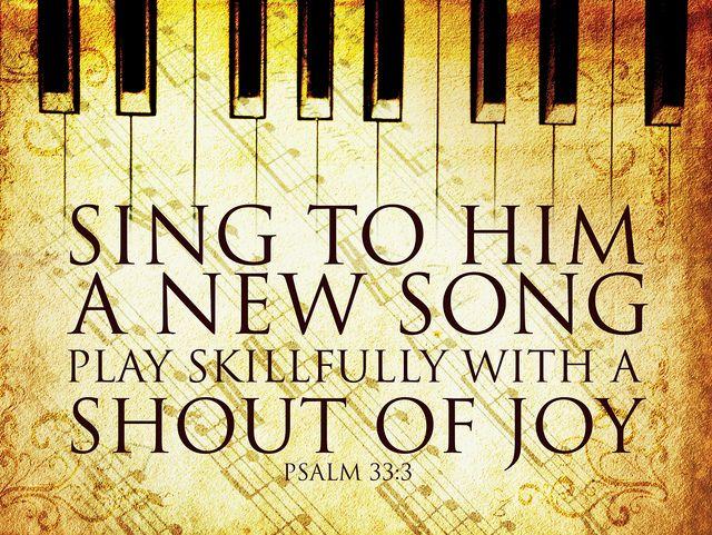 Psalm 33.3