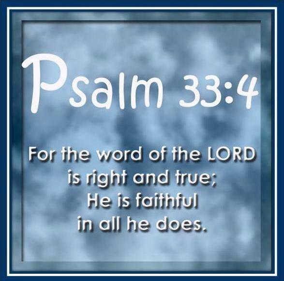 Psalm 33.4c