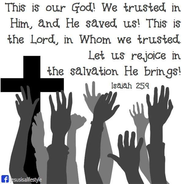 Isaiah 25.9