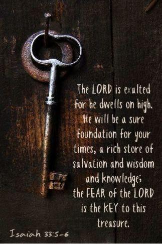 Isaiah 33.5-6