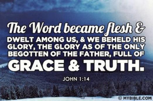 John 1.14