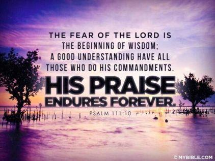 Psalm 111.10