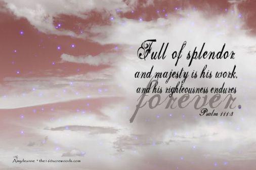 Psalm 111.3