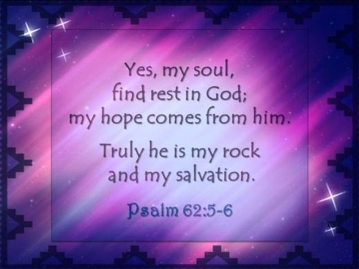Psalm 62.5-6