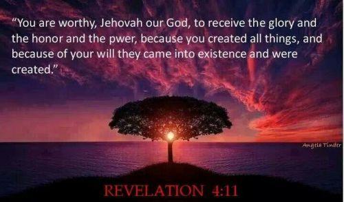 Revelation 4.11