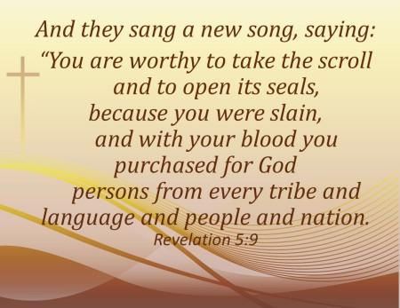 Revelation 5.9