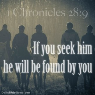 1 Chronicles 28.9