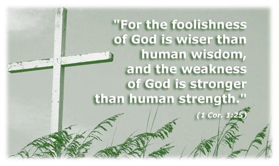 1 Corinthians 1.25