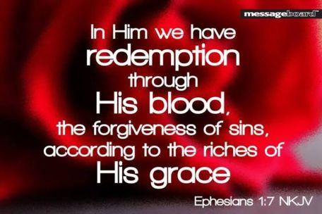 Ephesians 1.7