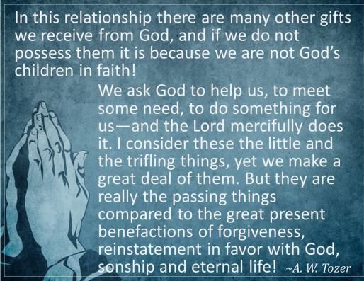God's forgiveness 10