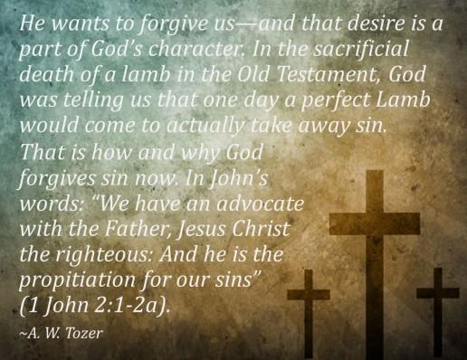 God's forgiveness 6