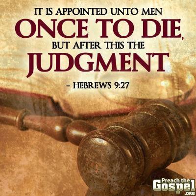 Hebrews 9.27