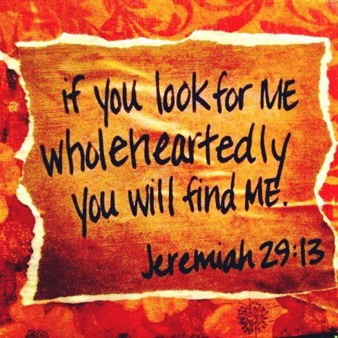 Jeremiah 29.13